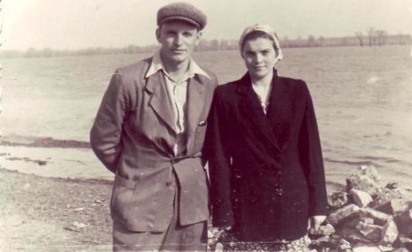 Вячеслав и Зоя в юности